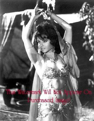 Old VINTAGE Antique BEAUTIFUL BELLY DANCER (2) Photo Reprint