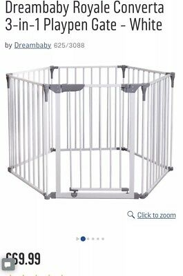 Dream Baby royale den playpen Room divider gate. Great condition. 3 in 1