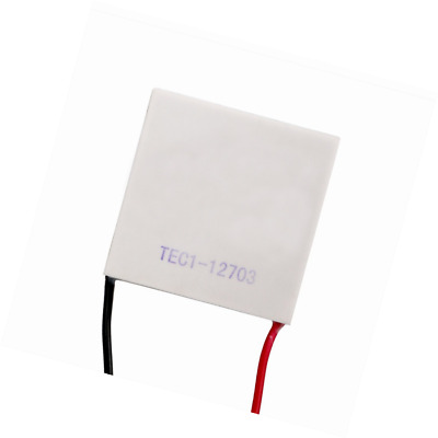DROK Peltier Thermoelectric Cooler Module 40*40MM DC 12V 36W White Cooling Chip