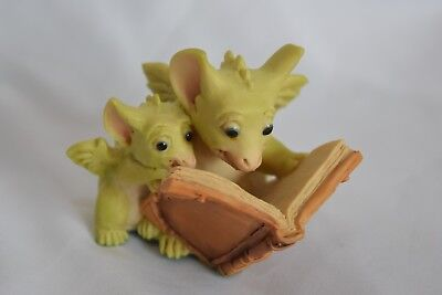 """1992 Whimsical World of Pocket Dragons  ~ """"Reading The Good Parts"""""""