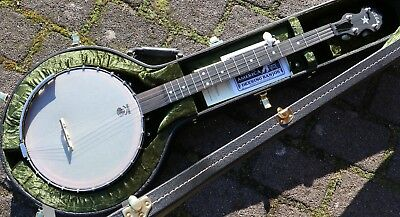 NEU Vega by Deering Old Tyme Wonder  Open Back  5S Banjo mit Case Made in USA