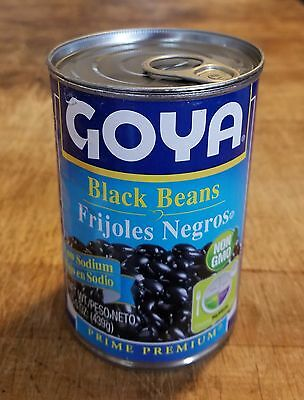 Diversion Can Stash Secret Safe Goya Black Beans 15.5 oz Magnetic Lined Lid