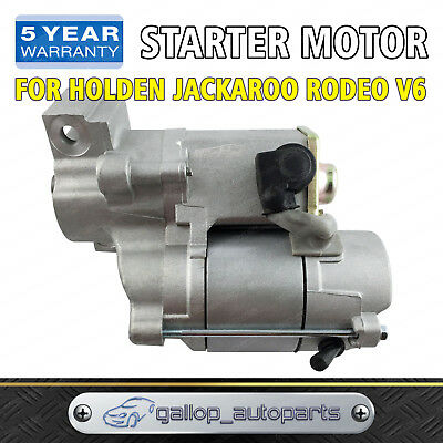 Starter Motor for Holden Jackaroo Rodeo V6 6VD1 6VE1 3.0L 3.2L 3.5L Petrol