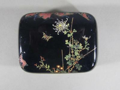 Nice Antique Japanese Cloisonne Box, As Is, Great Quality, Likely ANDO