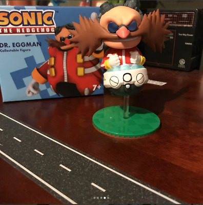 Loot Crate Gaming Bass Battle Sonic Dr Eggman Figure January 2018