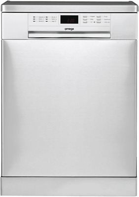NEW Omega ODW702X Stainless Steel Freestanding Dishwasher