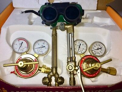 SALE! Merriam-Graves Welding & Cutting Outfit Torch Kit Oxy-Acetylene New Gauges