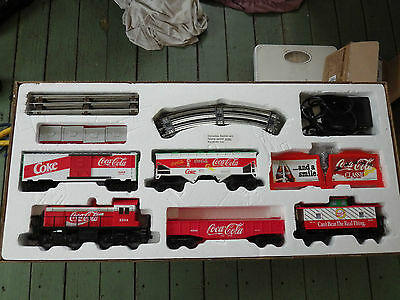 Vintage Collectable Coca Cola K-Line O Gauge 3-Rail Train Set In Original Box