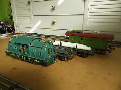 VINTAGE COLLECTABLE 1920s LIONEL STANDARD GAUGE  3-RAIL TRAIN SET