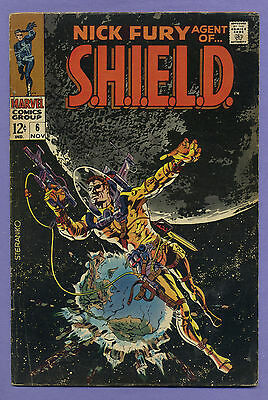 Nick Fury Agent of Shield #6 1968 Goodwin Thomas Springer Steranko Marvel m