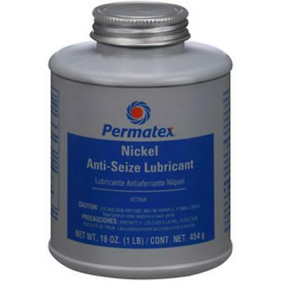 Permatex Nickel Anti-Seize Lubricant, 473mL brush top bottle 77164 Free Shipping