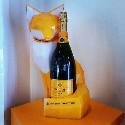 Veuve Clicquot x Maison Kitsune Fox Light Up Brand New