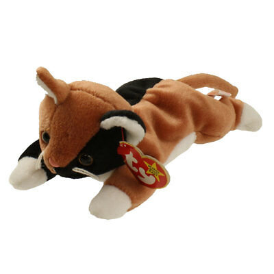 TY Beanie Baby - CHIP the Calico Cat (8 inch) - MWMTs Stuffed Animal Toy