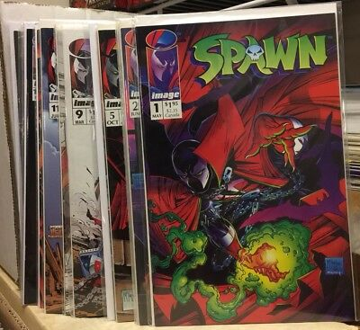 Spawn Comic Lot 1-30 & Blood Feud 1 & 2 NM High Grade! Image Movie Coming 9 Wow!