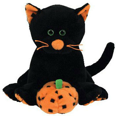 TY Beanie Baby - SUPERSTITION the Black Cat (5 inch) - MWMTs Stuffed Animal Toy