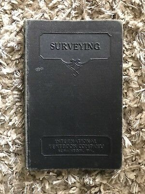 SURVEYING: Book 1. R. J. Foster & A. Degroot 1931