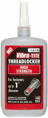 Vibra-TITE 131 Permanent Strength Anaerobic Threadlocker, 250 ml Bottle, Red