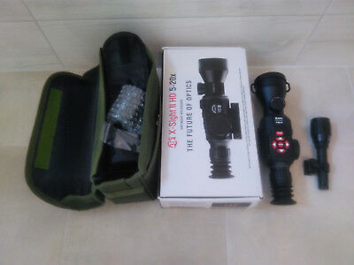 ATN X-SIGHT II HD 5-20x + IR Iluminator