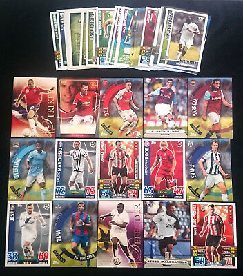 Bulk Lot of 70 x Soccer Trading Cards Assorted includes INSERTS 2004 - 2016