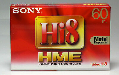 Sony Hi8 E5-60HME3 Video Cassette