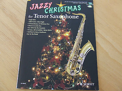 Jazzy Christmas for Tenor-Saxophone mit CD ED Schott 9640