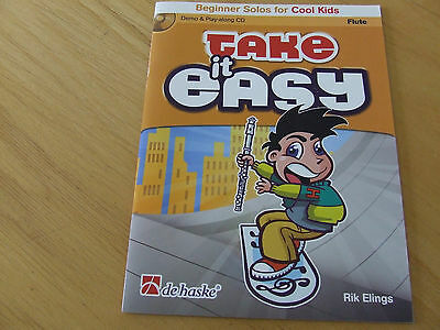 Take it easy Beginner Solos for Cool Kids für Flöte mit CD