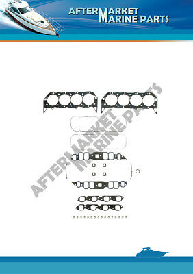 Mercrusier, Volvo and OMC gasket set part numer: 17249