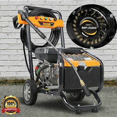 0.7 L  4 Stroke 8Hp 4800Psi Anti-Vibration Washer Cleaner Petrol Power Equipment
