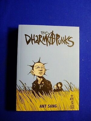 The Dharma Punks: Ant Sang. New Zealand cult anarcho-punk story. New