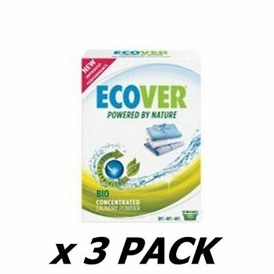 Ecover (Uk) Concentrated Bio Washing Powder 750G (3 Pack)