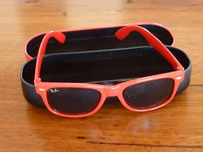 Ray-Ban Kids Childrens Unisex Sunglasses Red Maybe Never Worn Looney Tunes Case