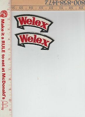 f2 welex patches 1-1/2 x 4