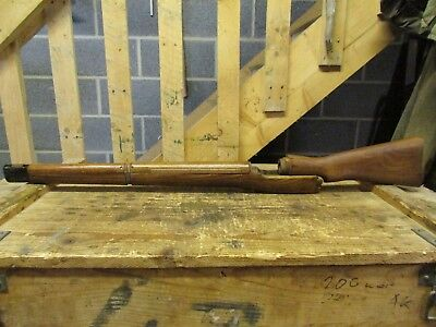 lee enfield no4 mk1 wood set, grooved handguard type,unissued.