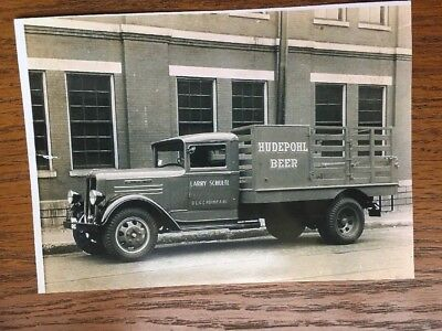 Early Hudepohl Beer Truck Photo Cincinnati Ohio