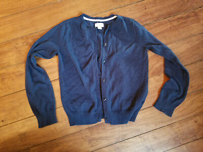 Girls Uniform Cardigan Sweater. By The Children's place Size 10-12  EUC