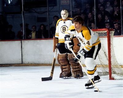 Bobby Orr, Eddie Johnston Boston Bruins 8x10 Photo