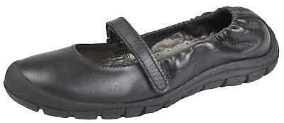 Ricosta Girls Leather School Shoes  Ballerinas Dolly Ballet Pumps Kids Size