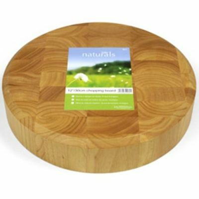 Chopping Board Cutting Board Kitchen Zodiac Wooden Round End Grain Board 30 Cm