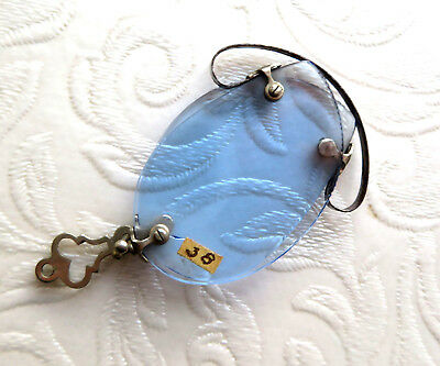 Antique Mid 19Th C  Blue Tint Folding Pince Nez(Pinch On The Nose  Glasses