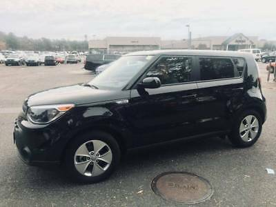 2016 Kia Soul black car