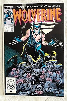 HIGH GRADE Wolverine 1 1988 1st App As Patch BYRNE Back Cover Art CGC It