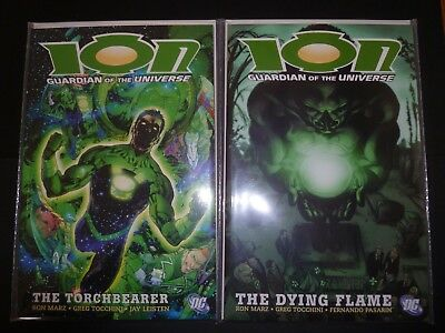 Ion Guardian of The Universe Vol 1 The Torchbearer + Vol 2 The Dying Flame DC