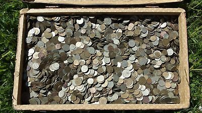 Lot Of 30 Coins Kopeks From Ussr Soviet Russian 1961-1991 With Hammer And Sickle