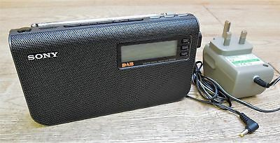 SONY XDR-S55DAB DAB/FM Portable Compact Radio Mains/Battery Operated +Adapter