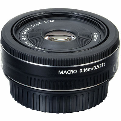 Sale Canon EF-S 9522B002 24mm f/2.8 STM Lens Clearance Deal