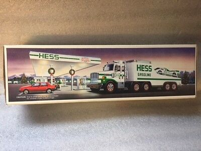 1988 Hess Toy Truck and Racer EXCELLENT MINT NEW IN BOX
