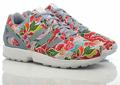 huge selection of 0c8e9 01571 ADIDAS ORIGINALS ZX Flux Floral Print Superstar Womens Shoes US 7 BB3792