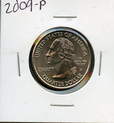 2009-P Uncirculated United States Washington Quarter - Guam BR80