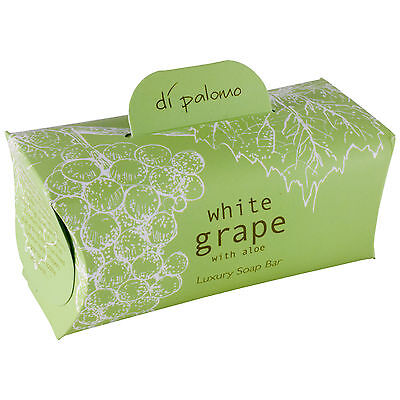 Di Palomo Luxury Scented Bath Soap Bar 200g - White Grape & Aloe