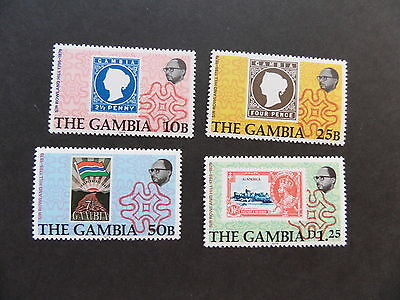 Gambia 1979 Death Cent Rowland Hill SG416/9 UM MNH unmounted mint
